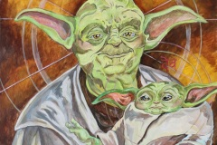 master-yoda-and-child-starwars-pop-art-lexcovato