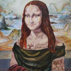 Mona Lisa's Tattooed Smile