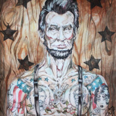 Lincoln's Emancipated Ink