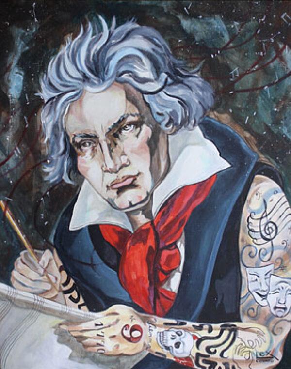 Beethoven's Inked Symphony