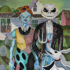 Jack and Sally American Gothic