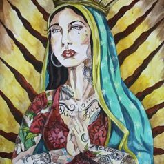 Inked Virgin of Guadalupe