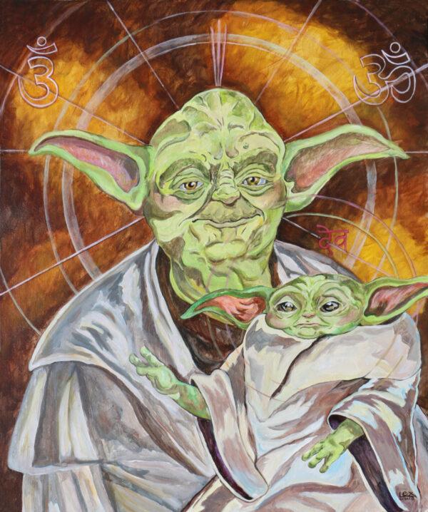 Master Yoda and Child