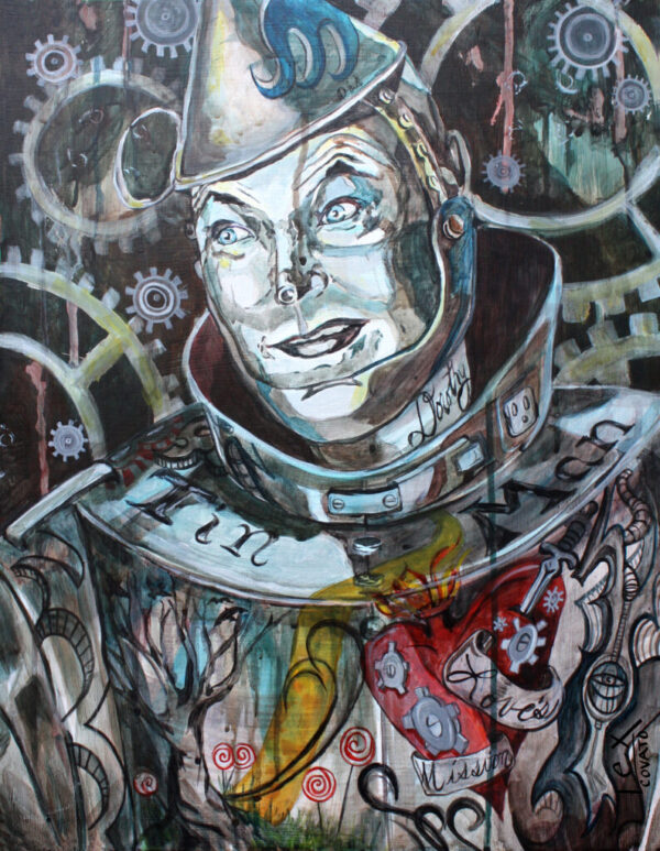 Tin Man's Tattooed Heart