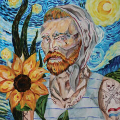Van Gogh's Tattooed Starry Night