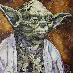 Yoda Inked Jedi