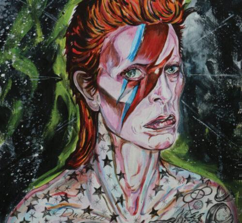 ziggy stardust Tattooed LEX covato art