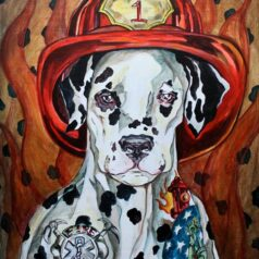 Inked Firehouse Dog