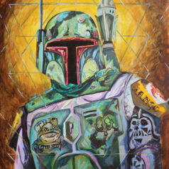 Boba Fett Tattooed Bounty Hunter