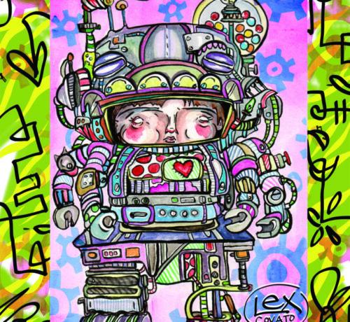 robot girlie full