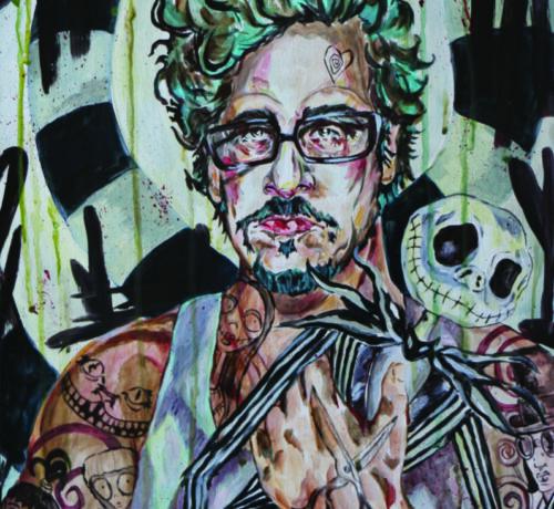 tim tBurton tattooed LEXnightmare ink artist